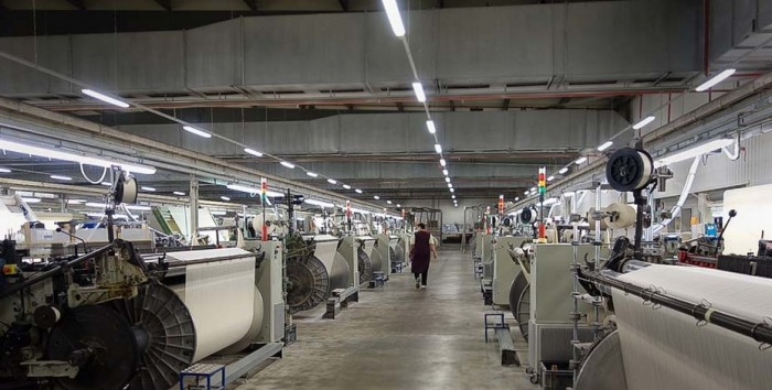 Usine textile innovation