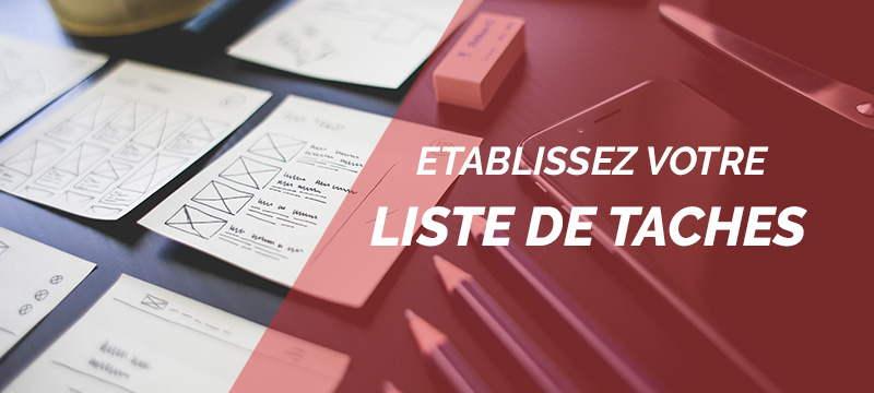 plan action liste taches